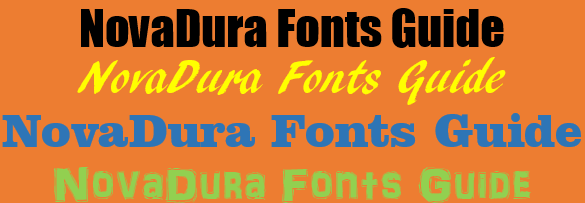 Fonts Guide