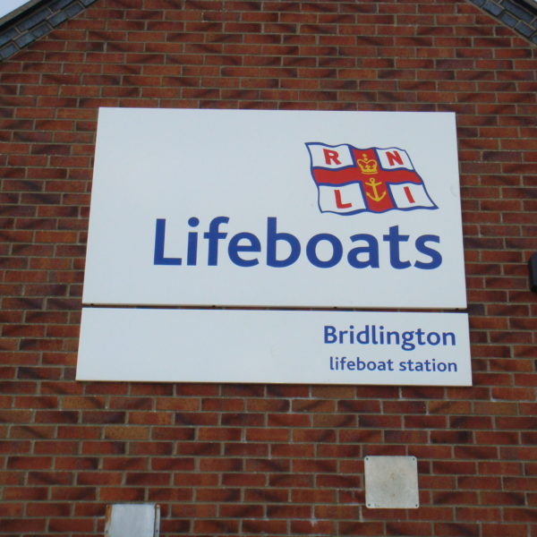 Bridlington Life boats Sign Trays