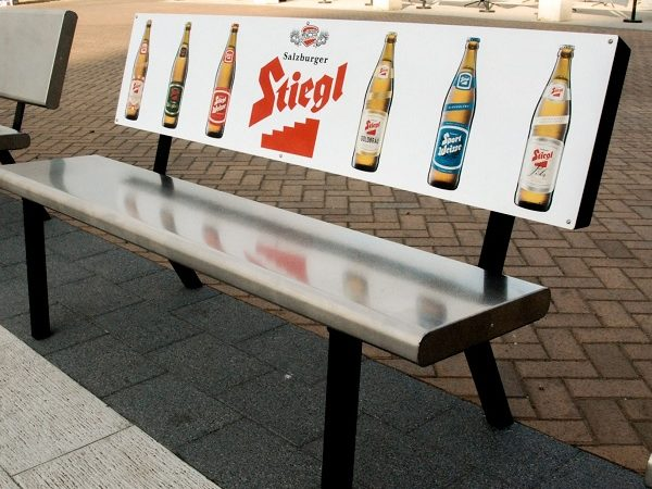 Street Furniture from Dragon Bench on Brighton Seafront