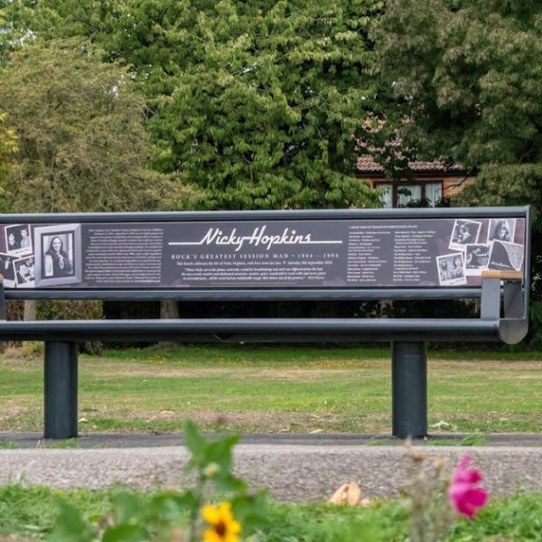 Street Furniture Nicky Hopkins Bench