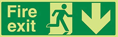 Fire-Exit-Running-Man-Down-Arrow-Class-D-Photoluminescent-450-x-150.