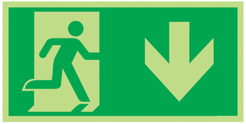 Fire-Exit-Running-Man-Down-Class-D-Photoluminescent-safety-sign-300-x-150