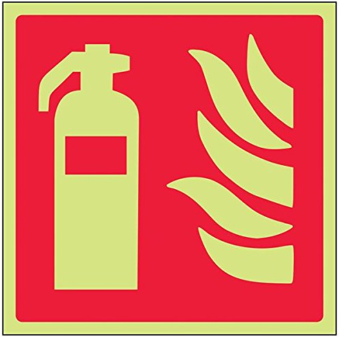 Fire-Extiguisher-Point-Class-D-Photoluminescent-Safety-Sign-Square-150-mm-x-150-mm