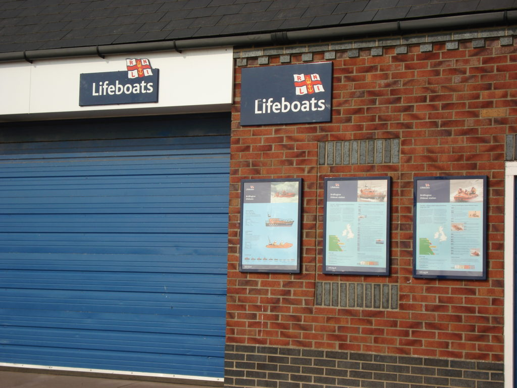 Weather Resistant Signage for the RNLI